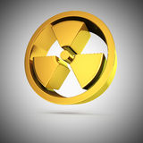 Shiny radiation Royalty Free Stock Image