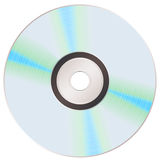 Shiny rainbow cd Royalty Free Stock Images