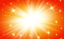 Shiny rays background art abstract Stock Image