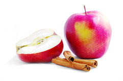 Shiny Red Apple Stock Image