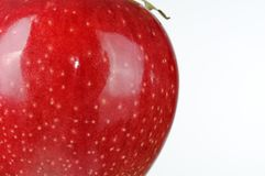 Shiny Red Apple Stock Images