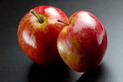 Shiny Red Apples Stock Photos