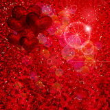 Shiny red background. Royalty Free Stock Photo