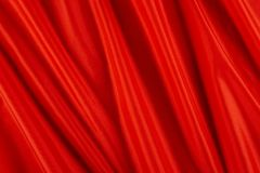 Shiny red fabric Royalty Free Stock Photos