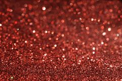 Red glitter for background Stock Photo