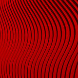 Shiny Red Wave Lines Pattern Background. 3d Render Illustration stock illustration