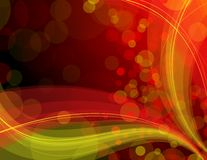 Shiny_red_and_yellow_background Royalty Free Stock Photography