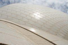 Shiny roof of Sydney Opera House Royalty Free Stock Image