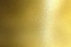 Shiny rough gold steel panel, abstract texture background.  royalty free stock photos