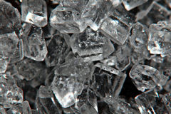 Shiny salt crystals, ice crystals Royalty Free Stock Photography