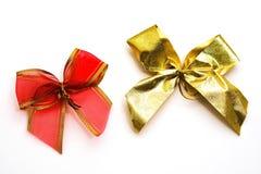 Shiny satin ribbon Royalty Free Stock Photography