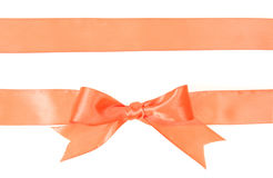 Shiny satin ribbons Stock Image