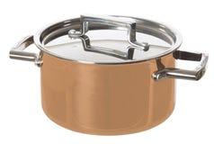 Shiny Saucepan Royalty Free Stock Image