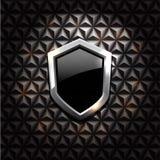 Shiny  shields Stock Images
