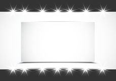 Shiny showcase background Royalty Free Stock Photography