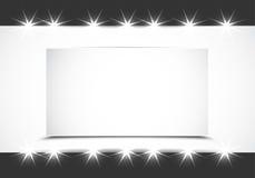Shiny showcase background Royalty Free Stock Photography