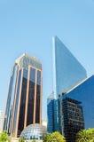 Shiny Skyscrapers Stock Photo