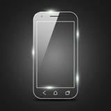 Shiny Smart Phone Royalty Free Stock Photos