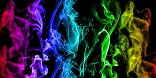 Shiny smoke background Royalty Free Stock Images