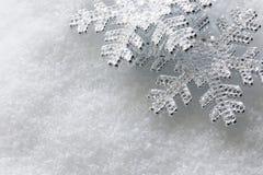Shiny snowflakes Stock Photos
