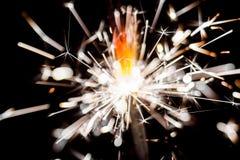 Shiny sparkler Stock Images