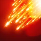 Shiny sparkles Stock Image