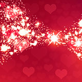 Shiny sparkling background Stock Images