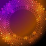 Shiny sparkling lights vector background Stock Image