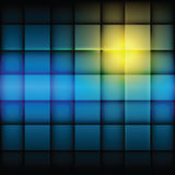 Shiny square pattern Stock Photography