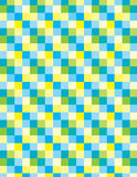 Shiny squares. Active abstract subject with soft spatial ilusion royalty free stock photos
