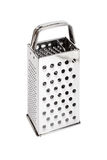 Shiny stainless steel cheese grater Stock Photo