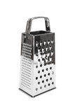 Shiny stainless steel cheese grater Stock Photos