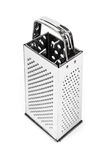 Shiny stainless steel cheese grater Royalty Free Stock Images