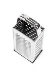 Shiny stainless steel cheese grater Stock Images