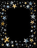 Shiny Star Frame Royalty Free Stock Photography