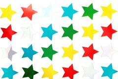 Shiny Star Stickers Royalty Free Stock Image