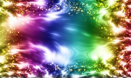 Shiny Starry Background Stock Photos