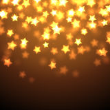 Shiny Stars Background Stock Photos
