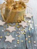 Shiny stars background Stock Image