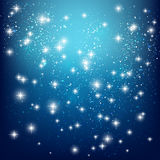 Shiny stars Royalty Free Stock Photos