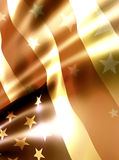 Shiny stars flag abstract background Royalty Free Stock Images