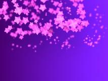 Shiny Stars Particles Stock Image