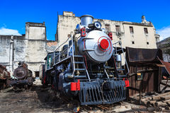 Shiny steam engine Stock Photos