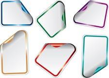Shiny sticky poly Stock Images