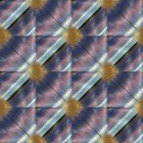 Striped grunge 3d seamless pattern. Shiny striped lattice 3d seamless pattern. Surface texture. Geometric background. Luxury 3d wallpaper. Lines, shapes, zigzag Royalty Free Stock Photos