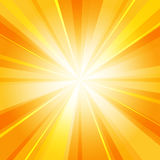 Shiny sun radiator background vector illustration