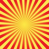 Shiny sun vector ray background Stock Images