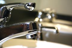 Shiny tap Stock Image