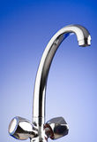 Shiny tap on the gradient Stock Image