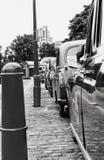 Shiny Taxi Royalty Free Stock Photography